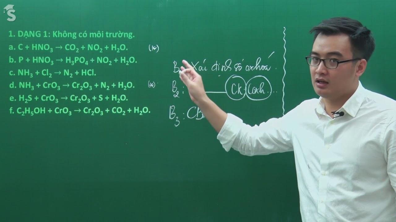 Live – Phản ứng Ooxxi hóa khử – hóa học 10 – Thầy giáo Phạm Thanh Tùng