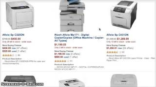 Ricoh Printers - BEFORE you buy: This is what you're in for! (with Ricoh Printers)