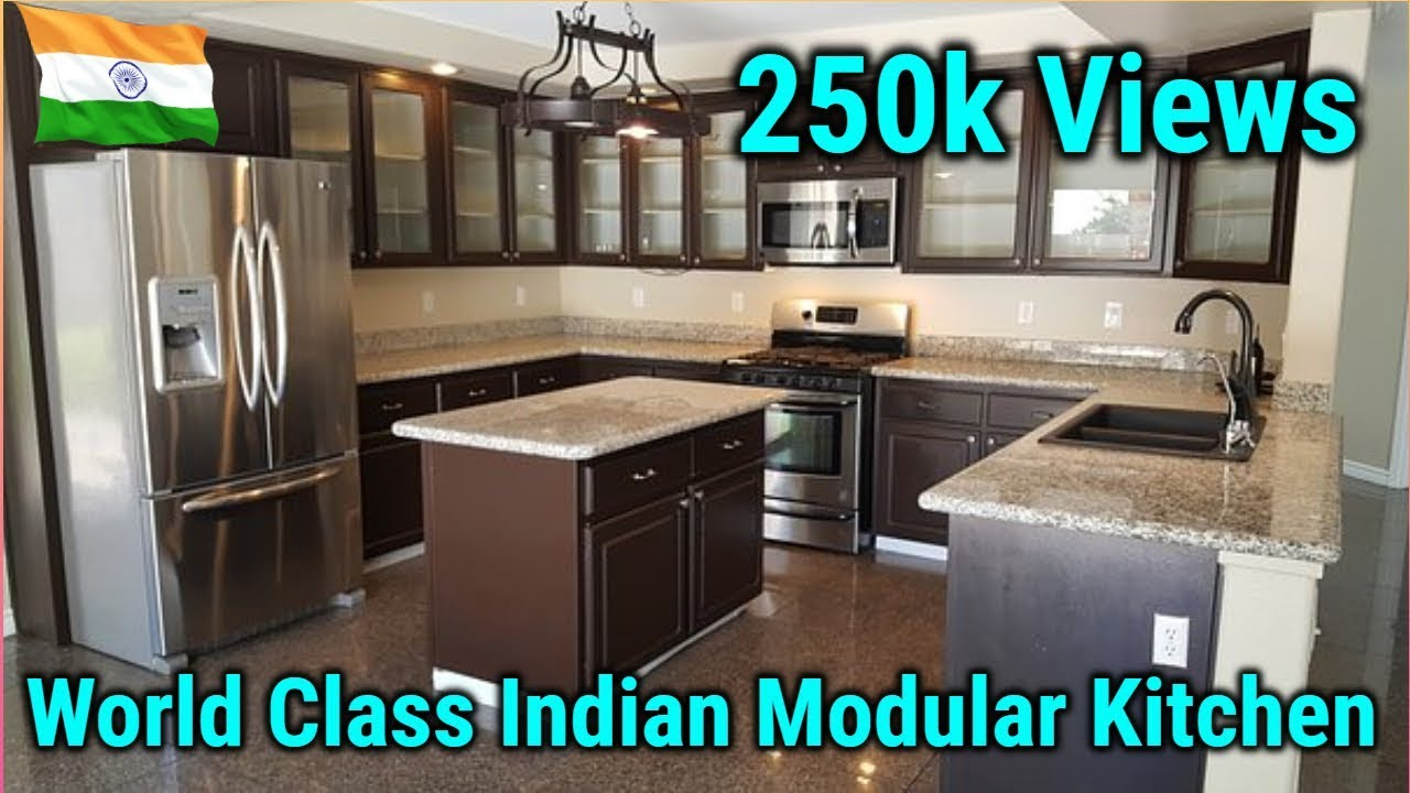 Modular Kitchen Design Simple And Beautiful In India { हिन्दी }