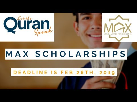 MAX Scholarships | Apply now!