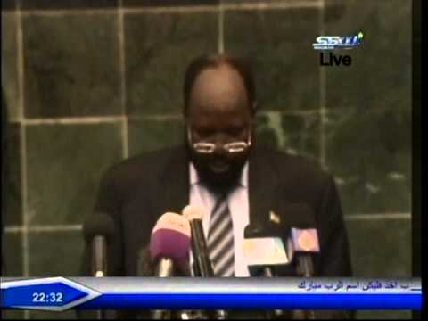 South Sudanese President Salva Kiir  speech on the  parliament about the agreement with Sudan
