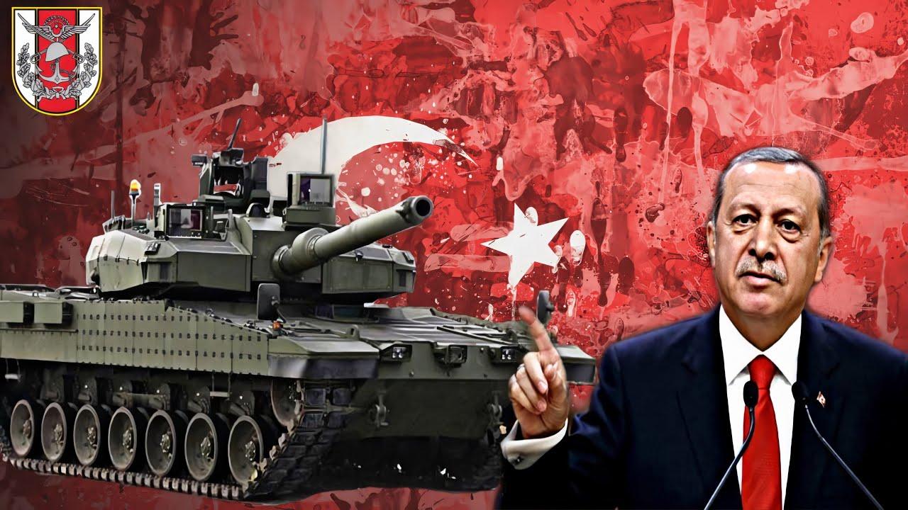 5 รถถังกองทัพตุรกี