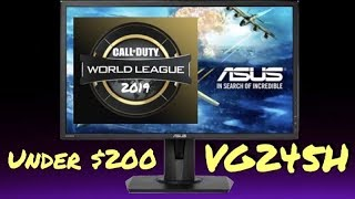 The Official Monitor of the CWL 2019 Season - ASUS VG245H