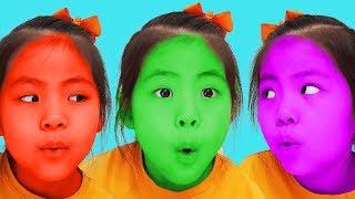 얼굴색이 왜 이래?!! 서은이의 바나나 딸기 초코 우유 워시 로션 색깔 놀이 Seoeun Pretend Play with Banana Milk Wash and Lotion