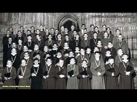 """Choral Evensong"": RSCM cathedral choristers' course 1957 (Gerald Knight)"