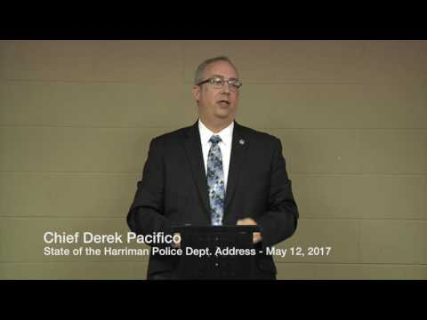 State of the Harriman Police Dept. - May 12, 2017