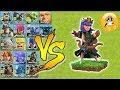 Archer Quenn lvl 45 Vs Every Single troop🔥best Gamplay - clash of clans😎unity clash😘