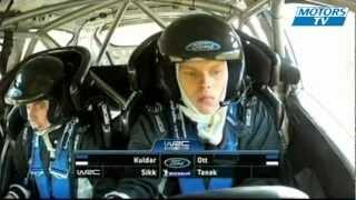 WRC 2012 | New Zealand Day 3 - Ott Tänak rolls in SS 20