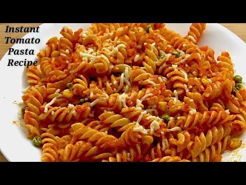 పాస్తాని-ఇంత-ఈజీగా-చేసుకోవచ్చని-మీకు-తెలుసా?||-easy-red-sauce-pasta-indian-style-recipe-in-telugu