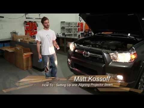 TRS Tips: Mounting and Aligning Projectors in a Headlight Retrofit