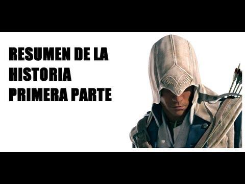 Resumen de la historia del juego Assassin's Creed III - Primera Parte [Resumen Oficial]