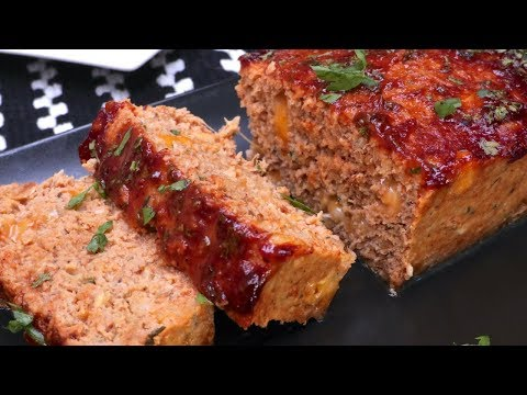 Cheesy Bbq Turkey Meatloaf Divas Can Cook