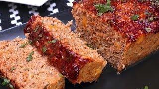 Cheesy BBQ Turkey Meatloaf