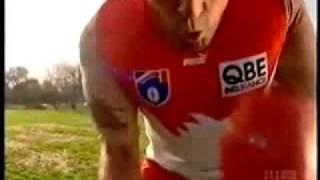2009 AFL Footy Show   Barry Hall CGU Ad parody
