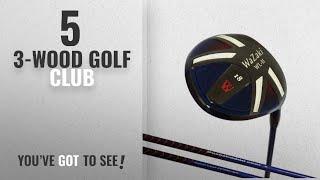 Top 10 3-Wood Golf Club [2018]: Japan Wazaki WL-IIs Black Oil Finish Mx Steel Fairway Wood USGA PGA