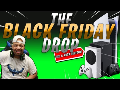 BLACK FRIDAY is ALMOST here | Let's Secure the ? | PS5 & XBOX RESTOCK LIVE STREAM (LINKS)