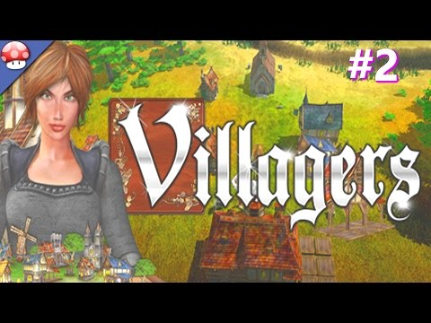 Villagers: PC Gameplay Walkthrough Part 2 (60fps/1080p) (Steam Town Builder Game)