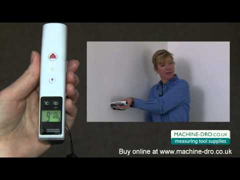 Laser Dimension Master II - Ultrasonic distance measure with laser pointer