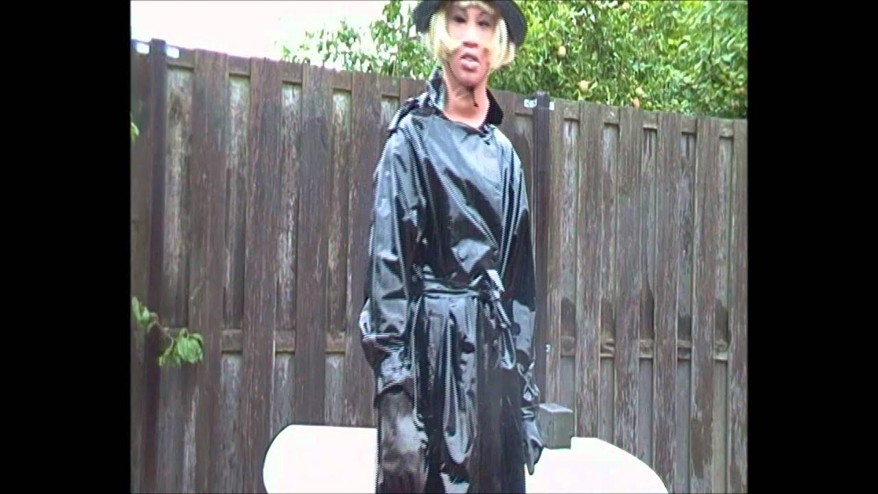 pvc regnfrakke