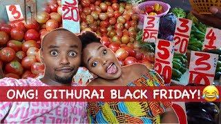 SHOPPING WITH BAE || GITHURAI BLACK FRIDAY || THE WAJESUS FAMILY