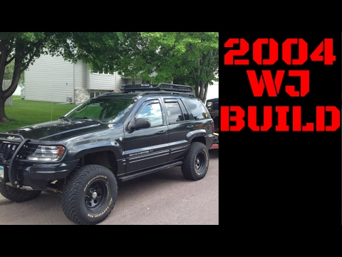 2004 Jeep Grand Cherokee WJ Build Slideshow Video