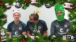 Die Weihnachtsgrüße der Kiezkicker I FC St. Pauli TV