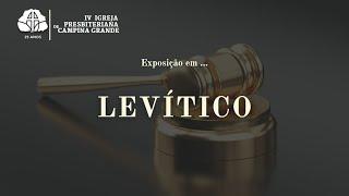 A santidade do sangue do sacrifício Levítico 17.1-16 | Rev. Clélio Simões 07/03/2021