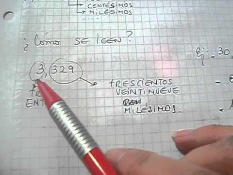N meros decimales c mo se leen mica youtube for Como se cocinan los percebes