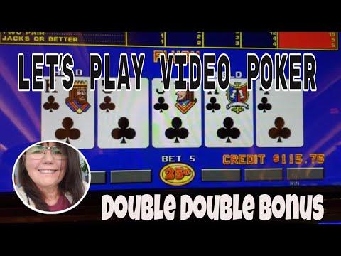 ♠️♣️ Double Double Bonus Video Poker And Aces Bonus At Hard Rock, Florida! ♥️♦️