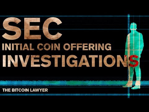 SEC Initial Coin Offering Investigations