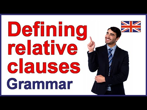 Relative pronouns | Defining relative clauses