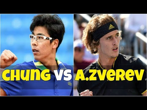 Hyeon Chung vs Alexander Zverev | SF Munich 2018 Highlights