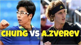 Hyeon Chung vs Alexander Zverev | SF Munich 2018 Highlights