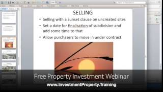 Property For Sale: How To Pre-Sell Subdivision Projects