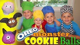 DIY Monster Cookie Cake Pop Balls thumbnail