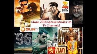 5 Biggest Blockbuster Diwali 2018 Special Tamil Movies On TV Channels!