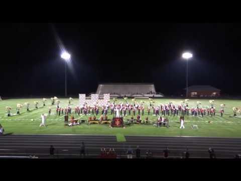 BWHS Falcon Regiment - US Bands Competition Rock Ridge High School 09/29/18