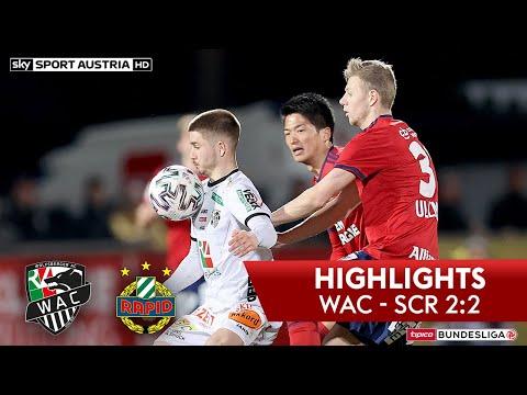 tipico Bundesliga, 22. Runde: Wolfsberger AC - SK Rapid Wien 2:2