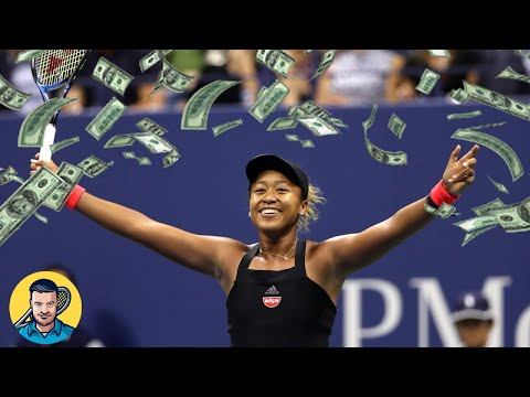 Naomi Osaka Becomes Highest Paid Female Athlete | Tennis Talk