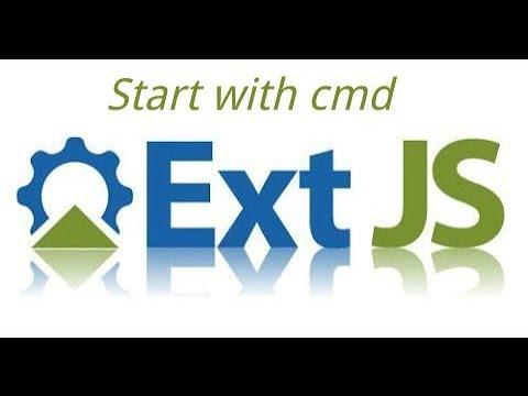 Sencha Ext Js Tutorial #2 Start With Sencha Cmd (command )
