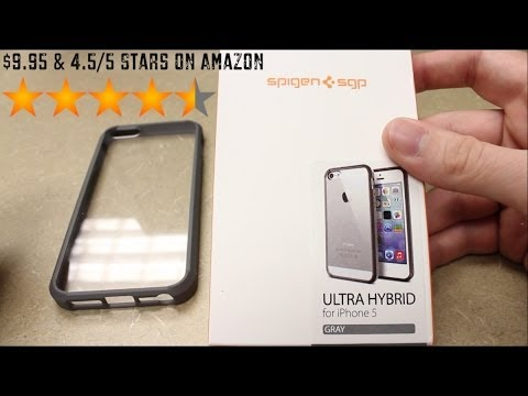 online store 846d7 34ea5 Best iPhone 5s Case? Spigen Ultra Hybrid Review