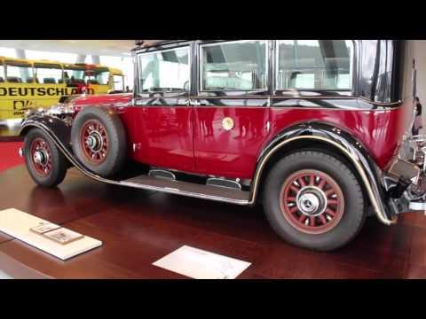 MERCEDES-BENZ & PORSCHE CAR MUSEUMS! Walk-thru tour - Stuttgart, Germany