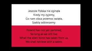 HYMN POLSKI - NATIONAL ANTHEM OF POLAND (lyrics)
