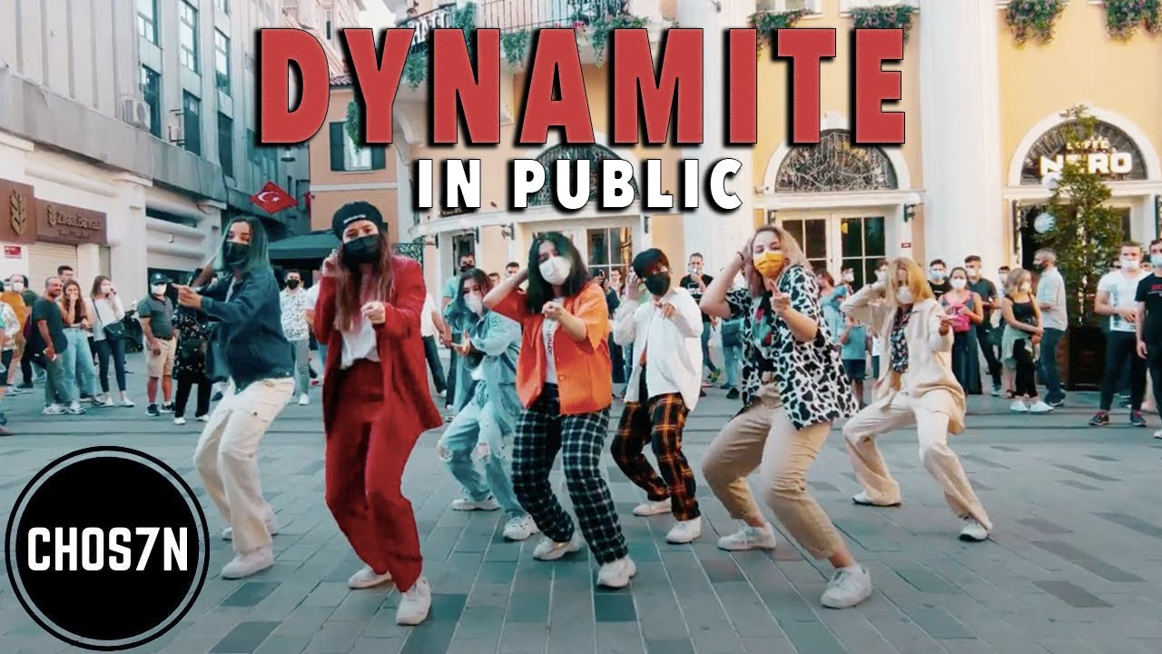[KPOP IN PUBLIC TURKEY 'MASK VER'] BTS (방탄소년단) 'DYNAMITE' Dance Cover by CHOS7N