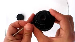 Get the aperture ring in your vintage M42 lens to work in full manual mode: An easy mod