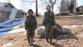 Musikvideo Låt mig vara din soldat - Albin ft. Kristin Amparo