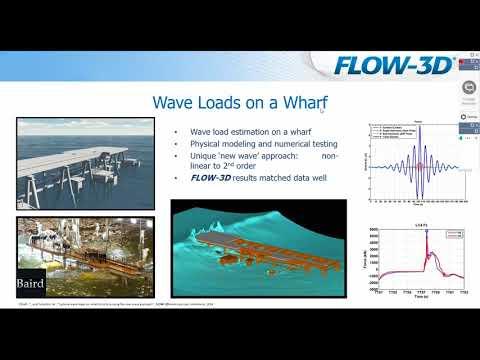 Coastal Applications using FLOW-3D
