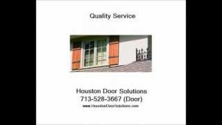 Wood Exterior Shutter Installed Houston - 713-528-3667 (Door) - Houston Door Solutions