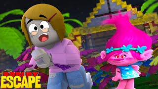 Roblox Escape Trolls Obby With Molly!
