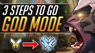 The Trick to go WINSTON GOD - Top 500 PRO Gameplay Tips - Overwatch Guide
